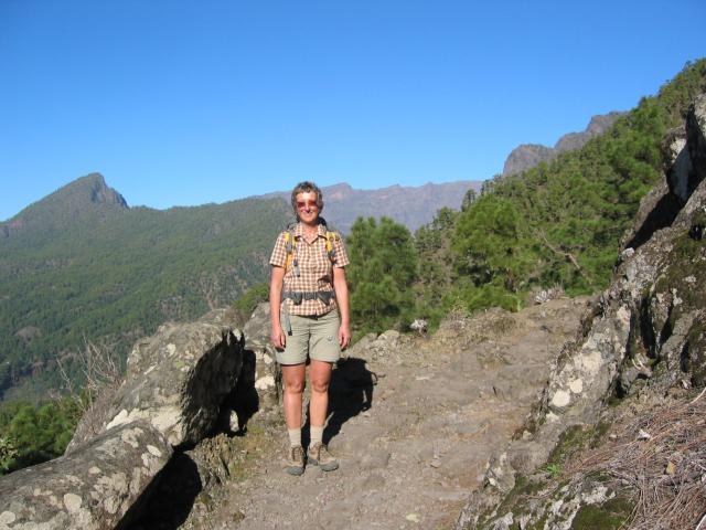 Foto: elipes / Wander Tour / Von der Ermita Virgen del Pino zur Punta de los Roques / Am Aufstiegsweg zum Reventonpass / 10.08.2009 19:43:39
