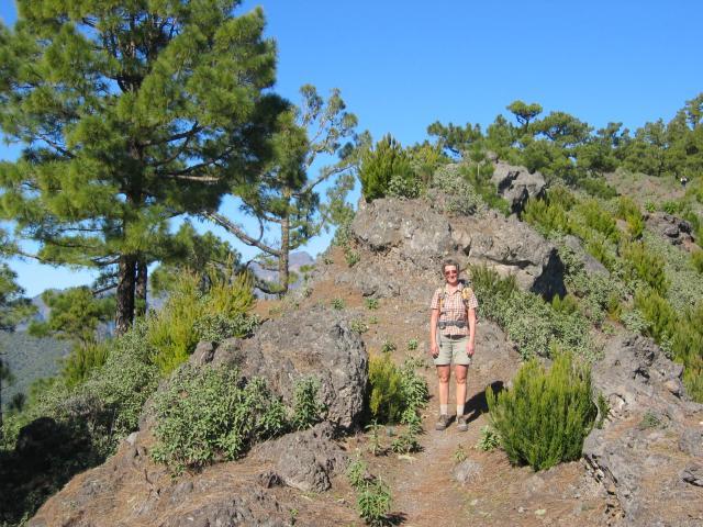 Foto: elipes / Wander Tour / Von der Ermita Virgen del Pino zur Punta de los Roques / Am Weg zum Pico Ovejas / 10.08.2009 19:44:09