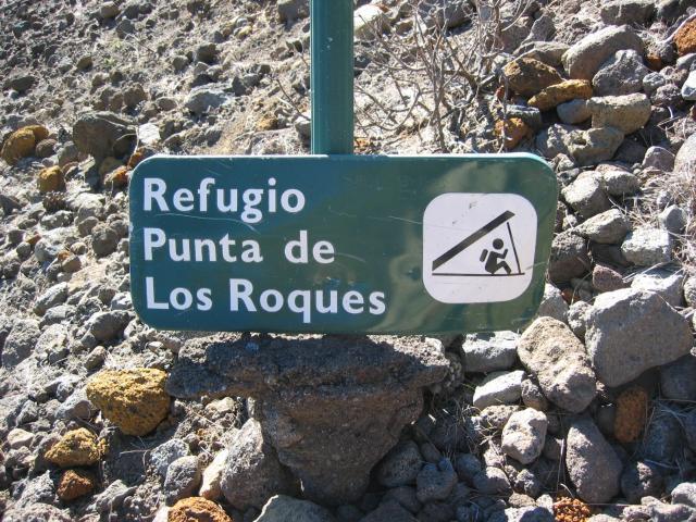 Foto: elipes / Wander Tour / Von der Ermita Virgen del Pino zur Punta de los Roques / Refugio / 10.08.2009 19:45:12