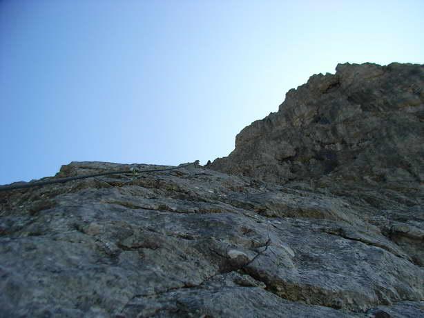 Foto: felskraxler / Klettersteig Tour / Lachenspitze Nordwand Klettersteig / 11.08.2009 00:33:40