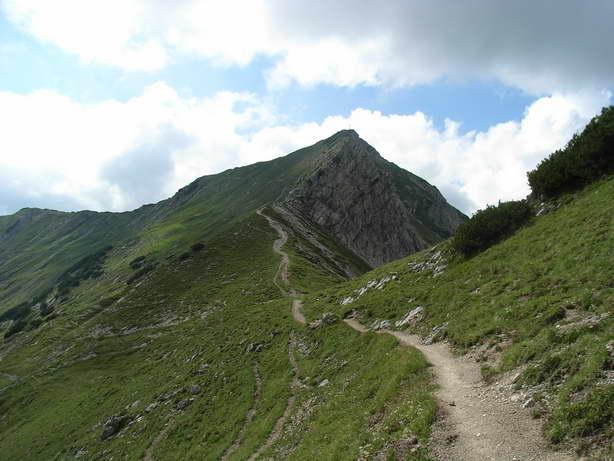 Foto: felskraxler / Klettersteig Tour / Lachenspitze Nordwand Klettersteig / Abstieg über den Wanderweg / 11.08.2009 00:38:25