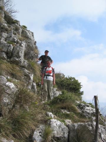 Foto: pepi4813 / Wander Tour / Pestingrad / Abstieg zur Scharte / 11.08.2009 11:17:40