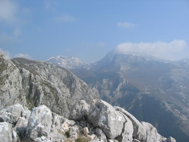 Foto: pepi4813 / Wander Tour / Pestingrad / Blick zum Lovcen / 11.08.2009 11:19:01