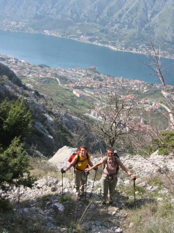Foto: pepi4813 / Wander Tour / Von Dobrota nach Mali Zalazi / Aufstieg nach Zalazi / 11.08.2009 11:41:09