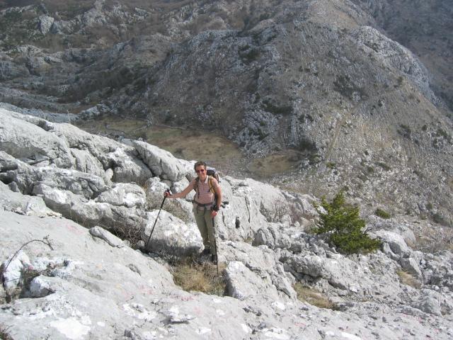 Foto: pepi4813 / Wander Tour / Von Dobrota nach Mali Zalazi / Aufstieg zum Ploce / 11.08.2009 11:43:14