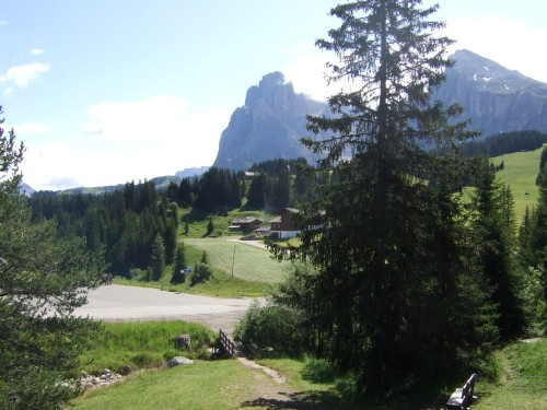 Foto: hofsab / Mountainbike Tour / Seiser Alm-Runde über Seiser Alm-Haus (2145 m)  / 27.08.2009 21:21:43