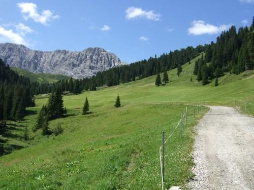 Foto: hofsab / Mountainbike Tour / Seiser Alm-Runde über Seiser Alm-Haus (2145 m)  / Weiterfahrt zum Seiser Alm-Haus / 27.08.2009 21:22:35