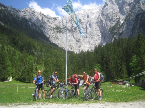 Foto: hofsab / Mountainbike Tour / Gotzenalm (1685m) von Berchtesgaden / Scharitzkehlalm / 26.08.2009 12:53:33
