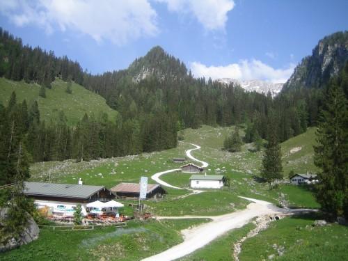 Foto: hofsab / Mountainbike Tour / Gotzenalm (1685m) von Berchtesgaden / bei der Königsbachalm / 26.08.2009 12:53:49
