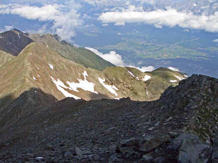 Foto: vince 51 / Wander Tour / Vom Kühtai auf den Rietzer Grieskogel / Blick ins Inntal / 11.08.2009 22:53:58