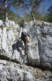 Foto: Kurt Schall / Klettersteig Tour / Kaisergams-Klettersteig - derzeit gesperrt - siehe Hinweis! / 12.08.2009 17:05:17