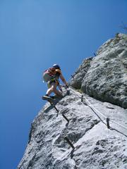 Foto: Kurt Schall / Klettersteig Tour / Kaiser Franz-Josef-Klettersteig / 12.08.2009 17:12:58