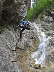 Foto: Kurt Schall / Klettersteig Tour / Rotschitza-Klamm-Klettersteig / 12.08.2009 17:20:13
