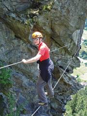 Foto: Kurt Schall / Klettersteig Tour / Danielsberg-Klettersteig / 12.08.2009 17:26:34