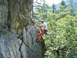 Foto: Kurt Schall / Klettersteig Tour / Danielsberg-Klettersteig / 12.08.2009 17:26:44