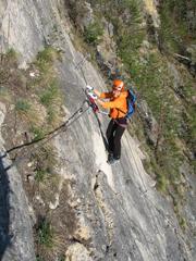 """Foto: Kurt Schall / Klettersteig Tour / Klettersteig """"Dreifaltigkeit"""" / 12.08.2009 17:38:24"""