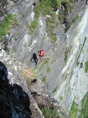 Foto: Kurt Schall / Klettersteig Tour / Kupfergeist-Klettersteig / 12.08.2009 17:44:20