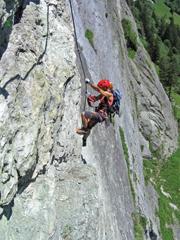 Foto: Kurt Schall / Klettersteig Tour / Kupfergeist-Klettersteig / 12.08.2009 17:44:33