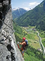 Foto: Kurt Schall / Klettersteig Tour / Kupfergeist-Klettersteig / 12.08.2009 17:44:43