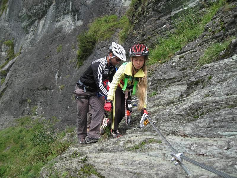 Foto: Heidi Schützinger / Klettersteig Tour / Kupfergeist-Klettersteig / mit der Familie eine tolle Unternehmung der