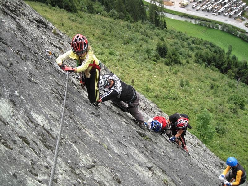 Foto: Heidi Schützinger / Klettersteig Tour / Kupfergeist-Klettersteig /