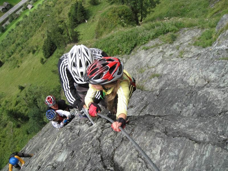 Foto: Heidi Schützinger / Klettersteig Tour / Kupfergeist-Klettersteig / Klettersteig