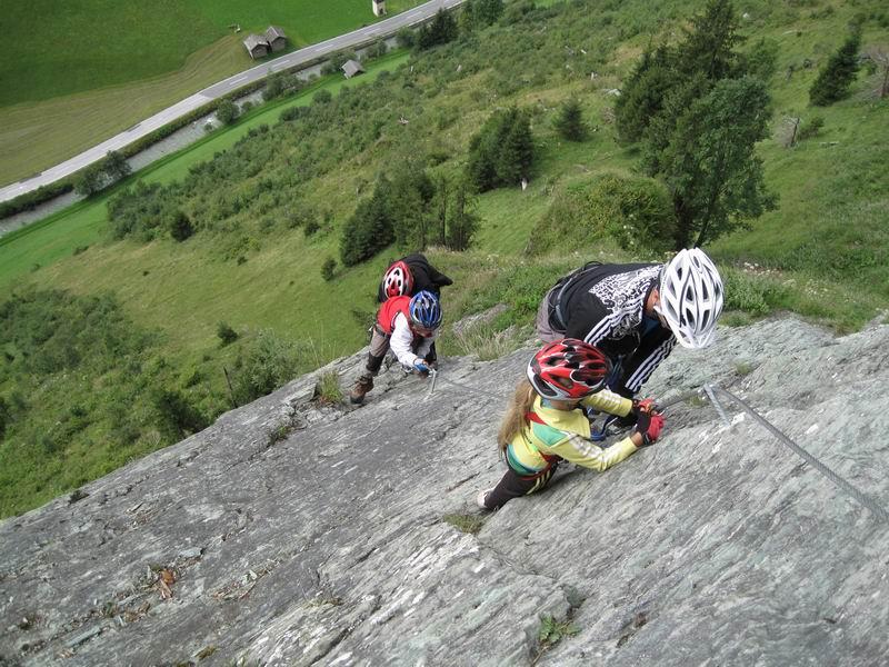 Foto: Heidi Schützinger / Klettersteig Tour / Kupfergeist-Klettersteig / Übungsklettersteig