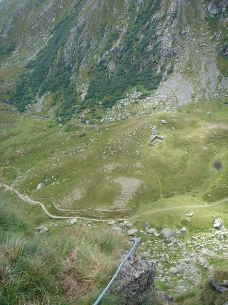 Foto: Manfred Karl / Klettersteig Tour / Falken Klettersteig / 14.08.2009 21:38:02