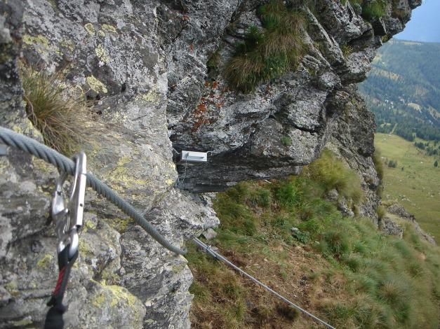 Foto: Manfred Karl / Klettersteig Tour / Falken Klettersteig / Nach dem Wandbuch / 14.08.2009 21:35:16