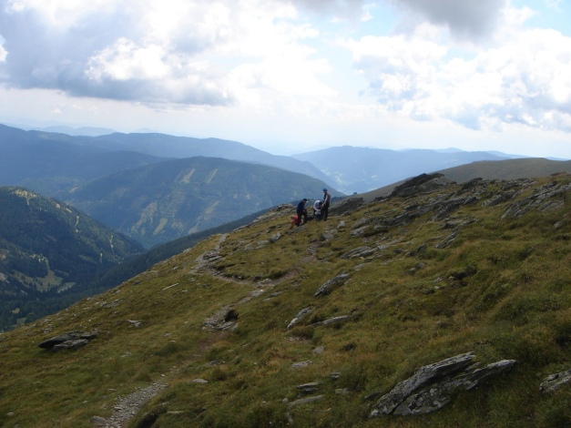 Foto: Manfred Karl / Klettersteig Tour / Falken Klettersteig / 14.08.2009 21:18:42