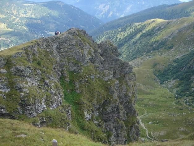 Foto: Manfred Karl / Klettersteig Tour / Falken Klettersteig / Ausstieg / 14.08.2009 21:17:04