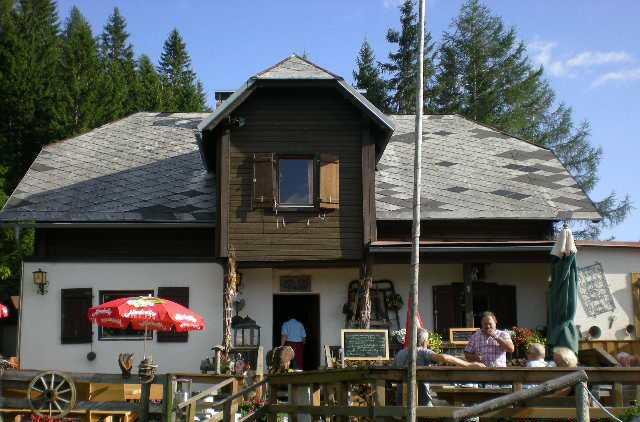 Foto: Seeboden / Wander Tour / Panoramarundwanderweg Pichlhütte - Sommeregger Hütte - Pichlhütte / Pichlhütte / 18.08.2009 12:51:02