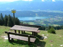 Foto: Seeboden / Wander Tour / Panoramarundwanderweg Pichlhütte - Sommeregger Hütte - Pichlhütte / Tangerner Aussichtsplatzl / 18.08.2009 12:48:20