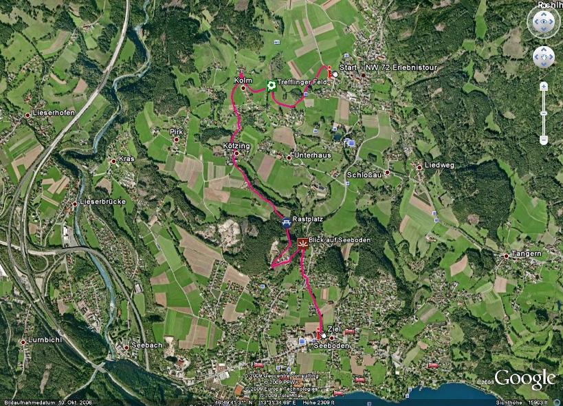 Foto: Seeboden / Nordic Walking Tour / NW Erlebnis Tour / 18.08.2009 14:19:41