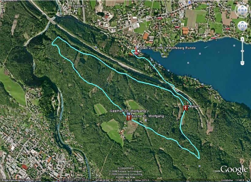 Foto: Seeboden / Nordic Walking Tour / NW 74 Wolfsberg Runde / 18.08.2009 15:01:35
