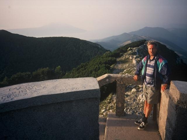 Foto: berglerin / Wander Tour / Auf den höchsten Berg Istriens / Am Aussichtsturm / 18.08.2009 20:10:58
