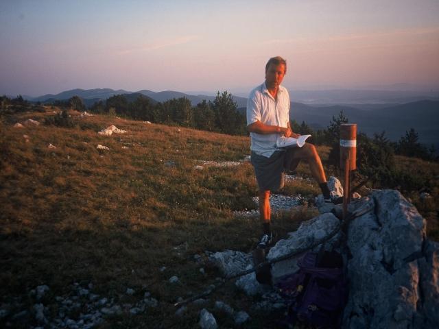 Foto: berglerin / Wander Tour / Orljak (1106m) / Bei Sonnenaufgang am Orljak / 22.08.2009 12:32:22