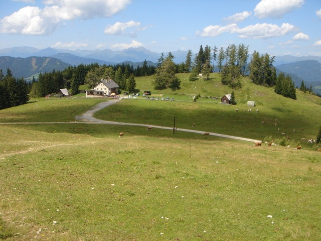 Foto: berglerin / Wander Tour / Familienwanderung im Naturpark Grebenzen / Grebenzenhaus / 22.08.2009 12:52:06
