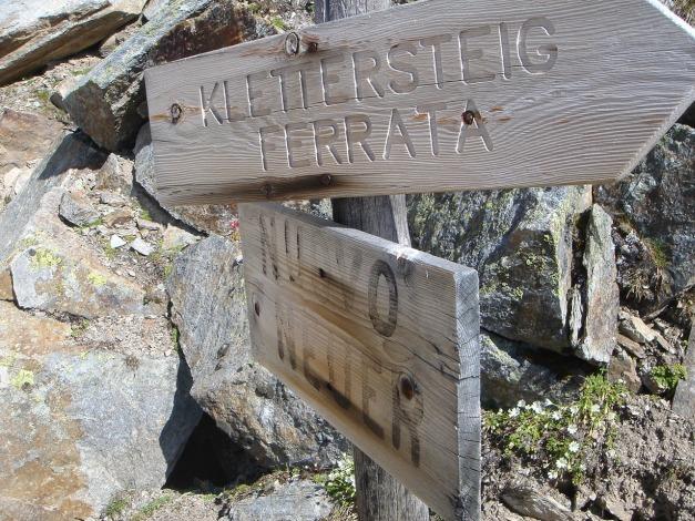 Foto: Manfred Karl / Klettersteig Tour / Südwand Klettersteig auf die Tschenglser Hochwand / 22.08.2009 21:16:13