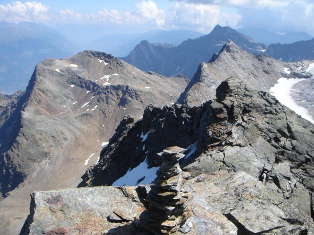 Foto: Manfred Karl / Klettersteig Tour / Südwand Klettersteig auf die Tschenglser Hochwand / Taitschroi und Schafberg / 22.08.2009 21:04:43