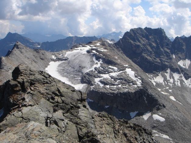Foto: Manfred Karl / Klettersteig Tour / Südwand Klettersteig auf die Tschenglser Hochwand / Schafbergspitz - Kl. Angelus - Hochofenwand / 22.08.2009 21:03:10