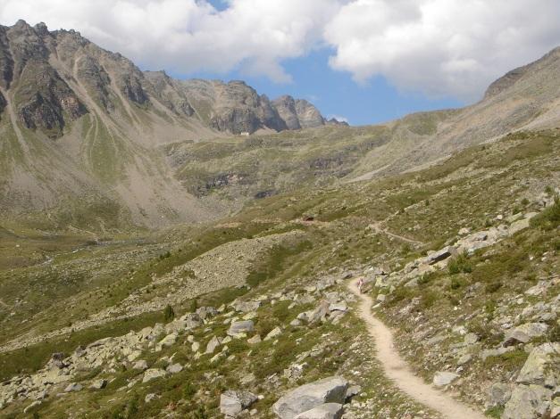 Foto: Manfred Karl / Klettersteig Tour / Südwand Klettersteig auf die Tschenglser Hochwand / Rückweg von der Düsseldorfer Hütte / 22.08.2009 20:56:27