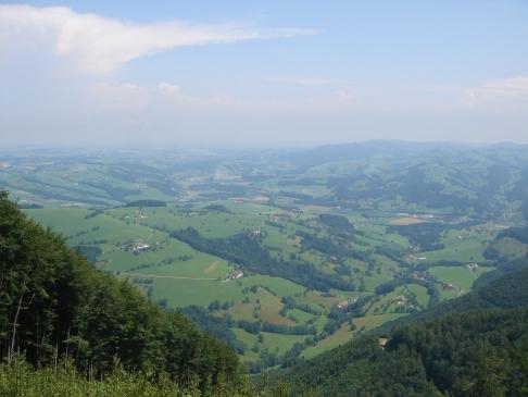 Foto: hanna84 / Wander Tour / Auf das Kruckenbrettl / Blick ins Alpenvorland / 24.08.2009 19:01:23