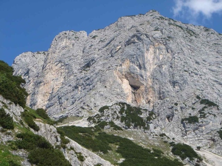 Foto: hanna84 / Wander Tour / Über die Hochkampschneid zum Scheibenkaser / Untersberg von Süden / 25.08.2009 19:26:01