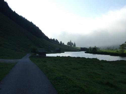 Foto: hofsab / Mountainbike Tour / Rund um das Spielberghorn über Asitzkopf (1914 m) und Schreiende Brunnen / Morgenstimmung am Grießensee / 28.08.2009 18:55:33