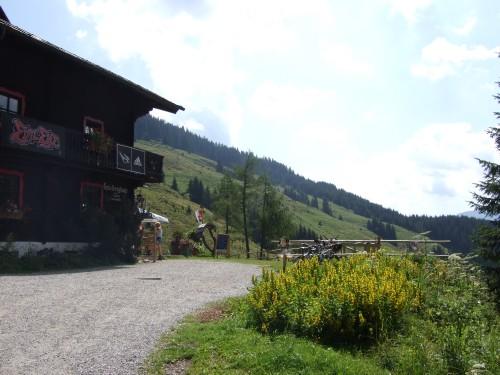 Foto: hofsab / Mountainbike Tour / Rund um das Spielberghorn über Asitzkopf (1914 m) und Schreiende Brunnen / das Spielberghaus / 28.08.2009 19:06:36