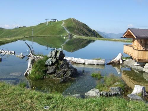 Foto: hofsab / Mountainbike Tour / Rund um das Spielberghorn über Asitzkopf (1914 m) und Schreiende Brunnen / am Speichersee / 28.08.2009 18:59:05