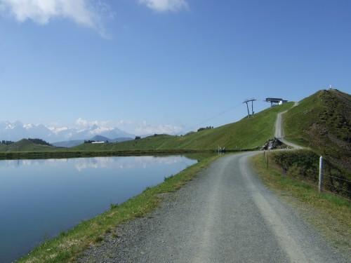 Foto: hofsab / Mountainbike Tour / Rund um das Spielberghorn über Asitzkopf (1914 m) und Schreiende Brunnen / tolle Stimmung / 28.08.2009 19:00:24