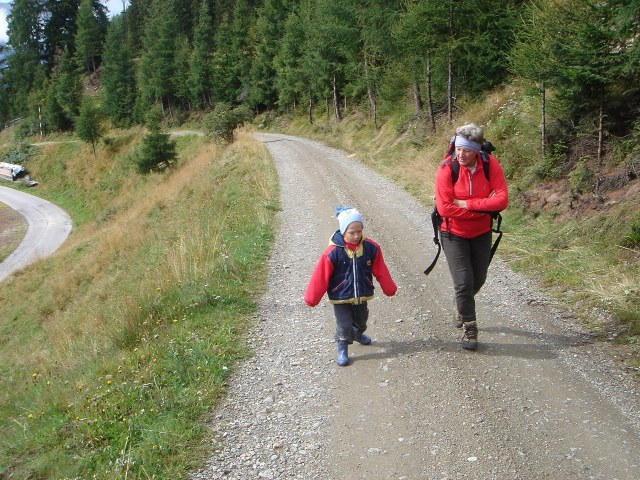 Foto: berglerin / Wander Tour / Gabesitten (2665m) / Früh übt sich - wenn auch nur ein Stück des Weges / 27.08.2009 17:55:00