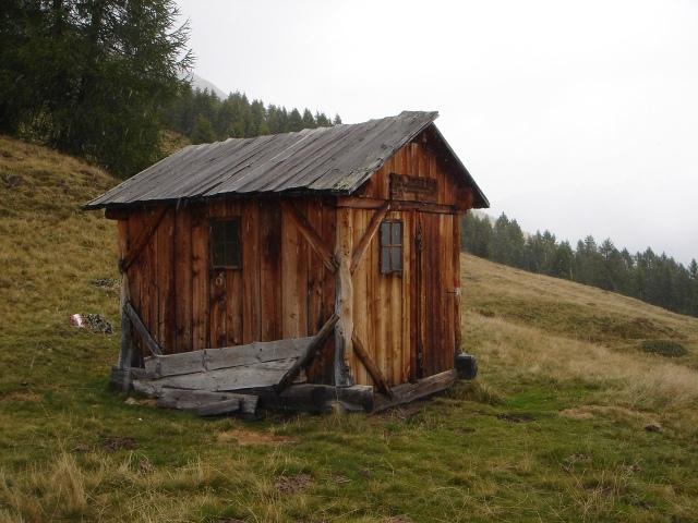 Foto: berglerin / Wander Tour / Gabesitten (2665m) / Unterstandshütte / 27.08.2009 17:53:31